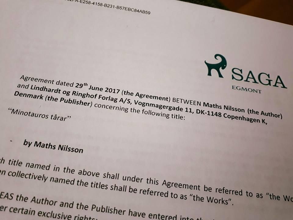 avtal Saga Egmont