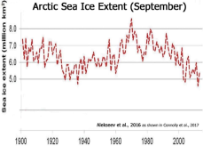 Arctic ice long term