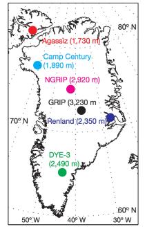 borrplatser Grönland