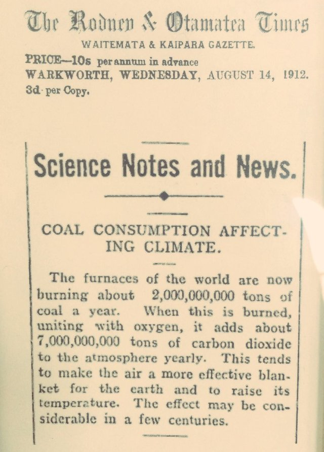 Växthuseffekten art fr 1912